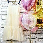 Одежда ручной работы. Ярмарка Мастеров - ручная работа Платье из фатина. Handmade.