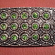 Винтаж handmade. Livemaster - original item Brooch VINTAGE USSR Czech crystal