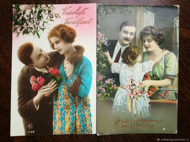 Магазин купит старинные открытки