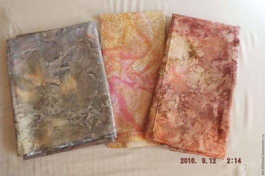 Шитье ручной работы. Ярмарка Мастеров - ручная работа. Купить ткани хлопок батик  США комплект. Handmade.