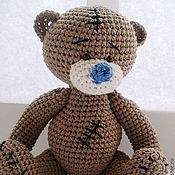 Куклы и игрушки ручной работы. Ярмарка Мастеров - ручная работа Мишка вязаный в  стиле Me to yiu. Handmade.