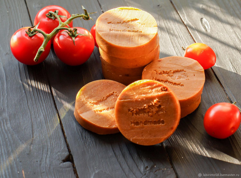 Мыло томатное с паприкой и розмарином, Мыло, Пенза,  Фото №1