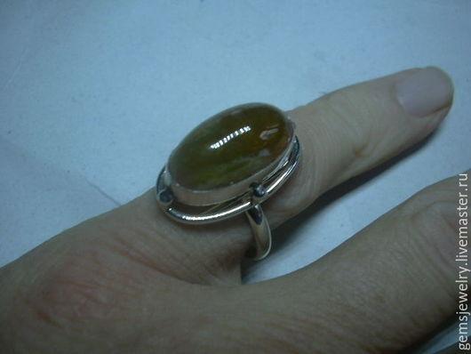 Кольца ручной работы. Ярмарка Мастеров - ручная работа. Купить Элегантное кольцо ЖЕЛТЫЙ ТУРМАЛИН,серебро 925.. Handmade. Желтый