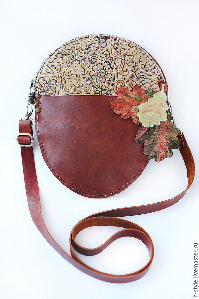 2d6f4d5959b3 Женские сумки ручной работы. Ярмарка Мастеров - ручная работа. Купить  Кожаная сумка