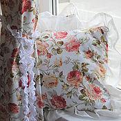Для дома и интерьера ручной работы. Ярмарка Мастеров - ручная работа Наволочки, подушки. Handmade.