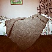 """Для дома и интерьера ручной работы. Ярмарка Мастеров - ручная работа Плед """"Rustik"""" , вязаный плед шерстяной. Handmade."""