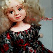 Куклы и игрушки ручной работы. Ярмарка Мастеров - ручная работа Дама с собачкой- будуарная кукла.. Handmade.