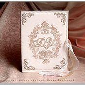 Свадебный салон ручной работы. Ярмарка Мастеров - ручная работа Свадебная папка для свидетельства о браке Инициалы на Свадьбу. Handmade.