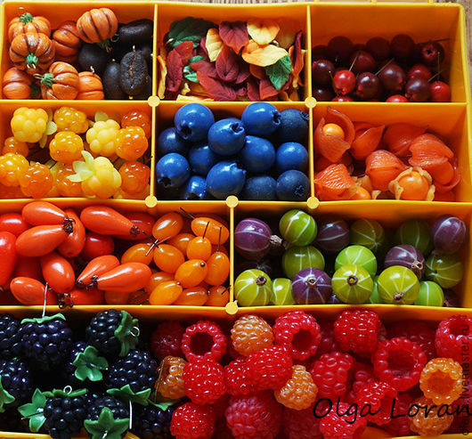 Бусины ягоды в ассортименте! В наличии и под заказ. Для создания неповторимых украшений! Ольга Лоран