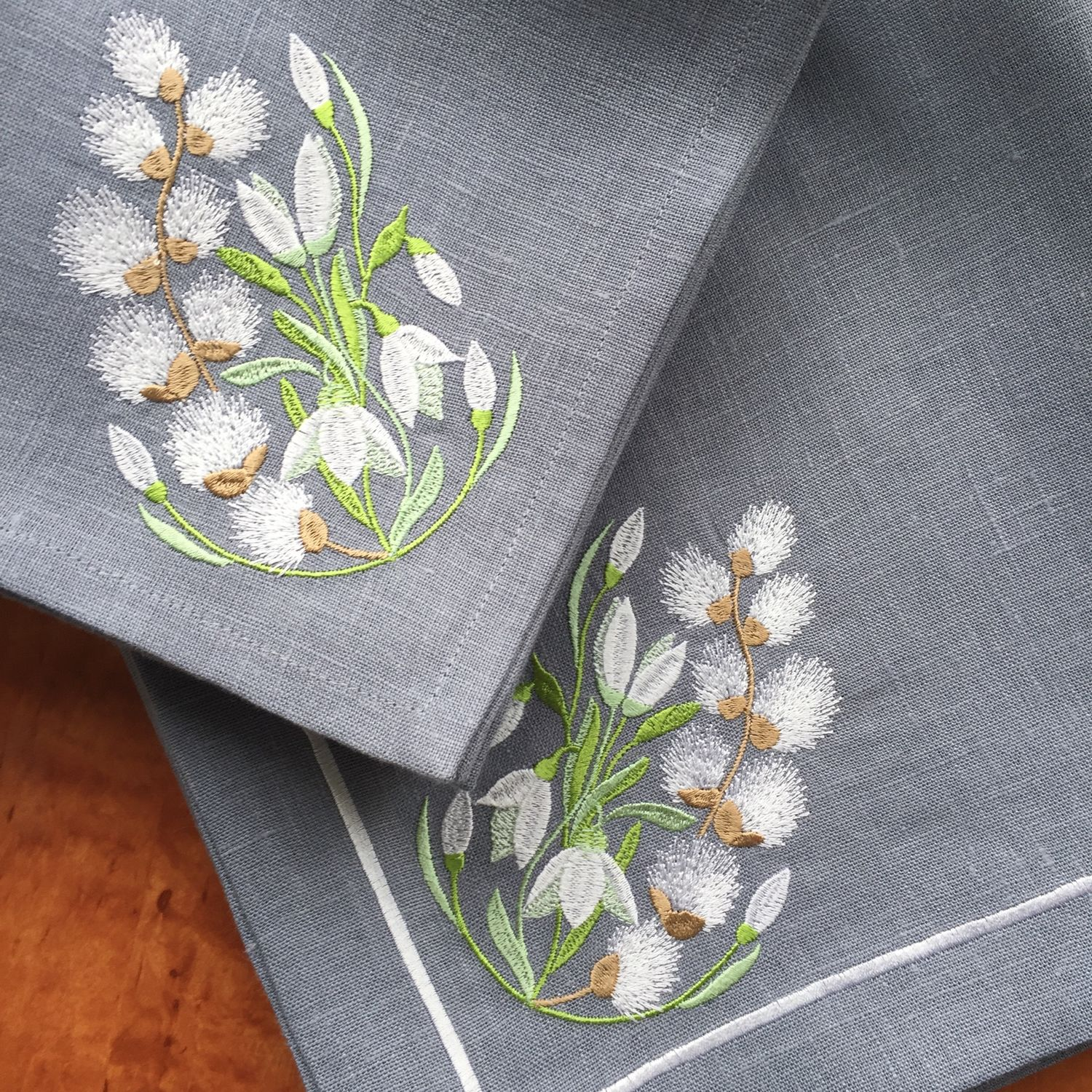 Napkin with embroidery ' Spring has come', Swipe, Moscow,  Фото №1