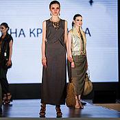 Одежда ручной работы. Ярмарка Мастеров - ручная работа Летнее платье из льна. Handmade.