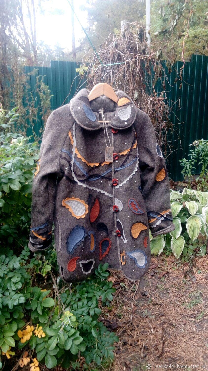 """Куртка из шерсти в осенних тонах """" Пейсли"""", Куртки, Ступино,  Фото №1"""