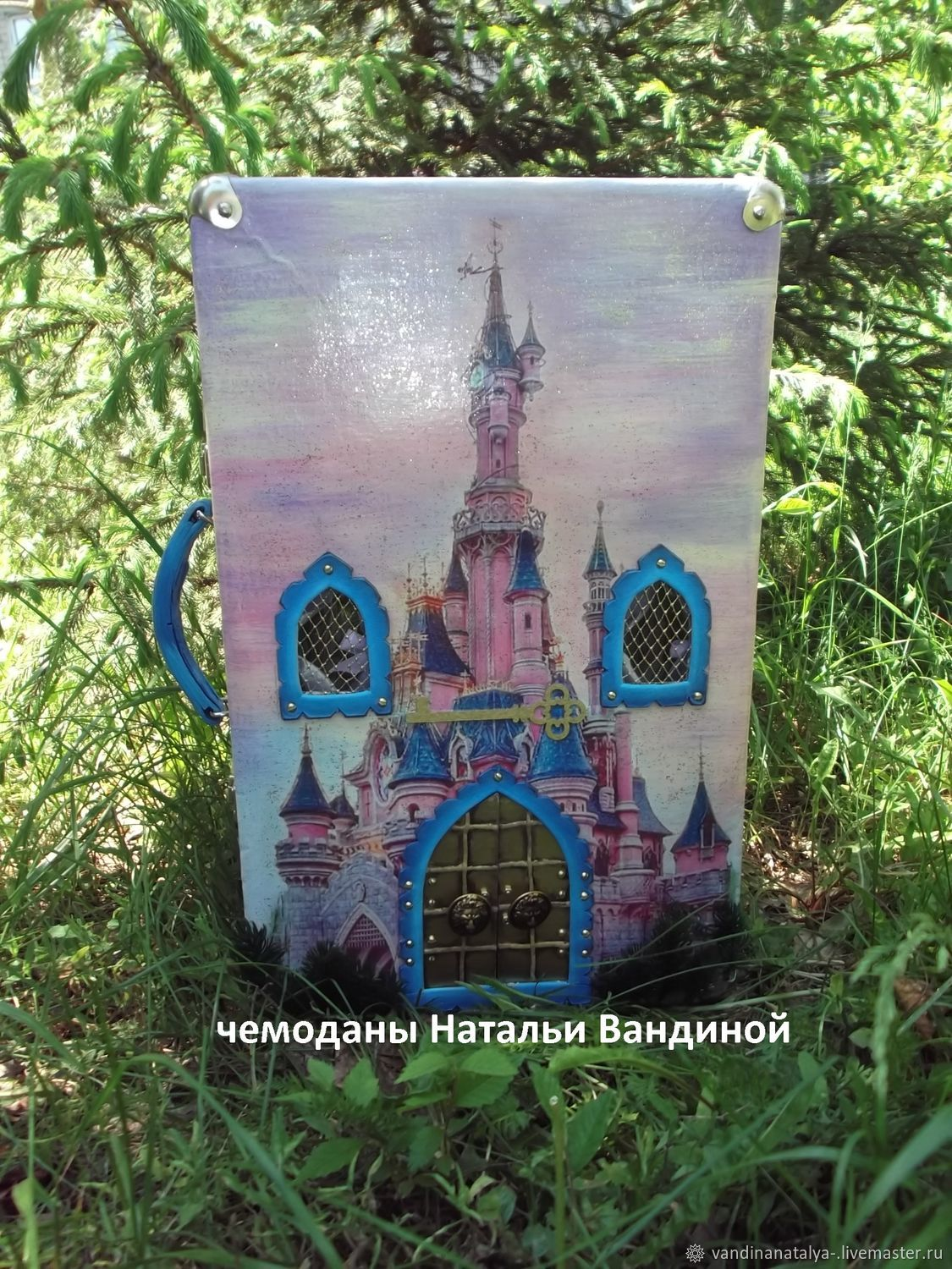 Suitcase Sleeping Beauty's Castle, Doll houses, Balakovo,  Фото №1