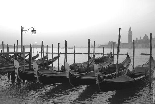 Vintage Via. Фоторабота `Рассвет в Венеции`, авторская фотография