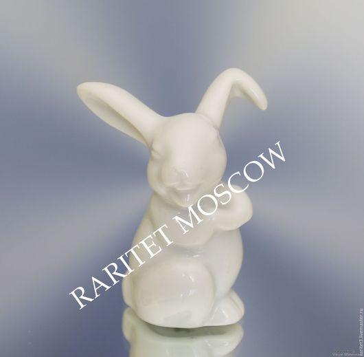 Винтажные предметы интерьера. Ярмарка Мастеров - ручная работа. Купить Заяц кролик Розенталь Rosenthal Германия 5. Handmade. Статуэтка