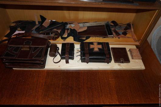 Мужские сумки ручной работы. Ярмарка Мастеров - ручная работа. Купить Коллекция. Handmade. Комбинированный, портфель из кожи, натуральная кожа