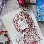 Картины и панно handmade. Livemaster - original item Angel of happiness. Handmade.