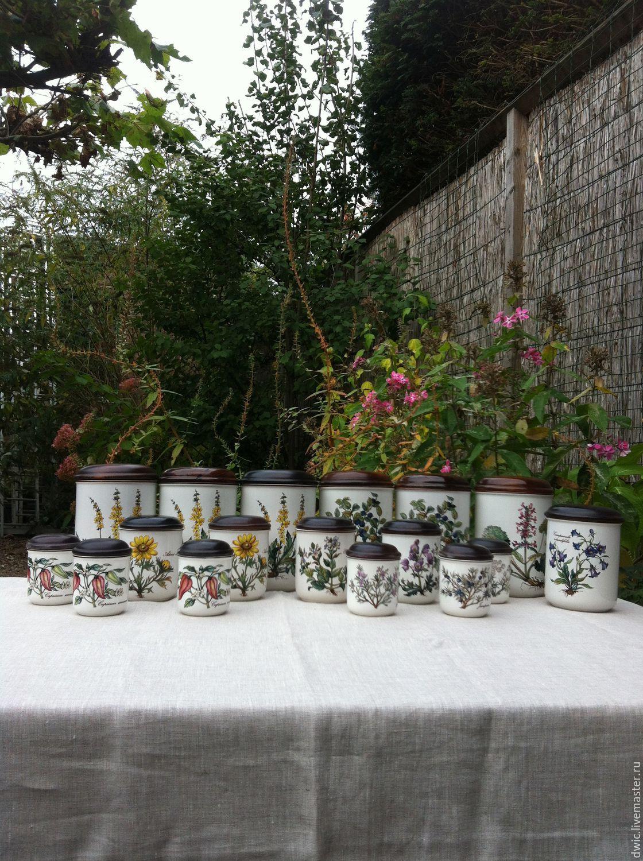 Banks for loose products Villeroy&Boch Botanica, Luxembourg, Vintage sets, Arnhem,  Фото №1