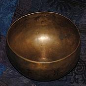 Музыкальные инструменты handmade. Livemaster - original item Singing bowl 17cm Tibet. Handmade.
