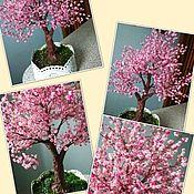 Цветы и флористика handmade. Livemaster - original item Sakura in bloom. Handmade.