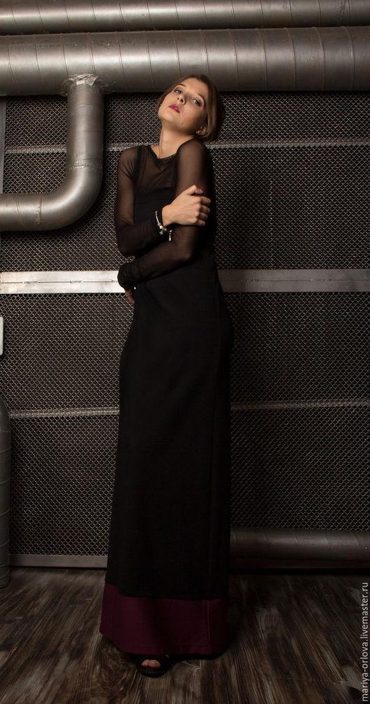 Платья ручной работы. Ярмарка Мастеров - ручная работа. Купить Платье. Handmade. Черный, платье, платье вечернее, джерси