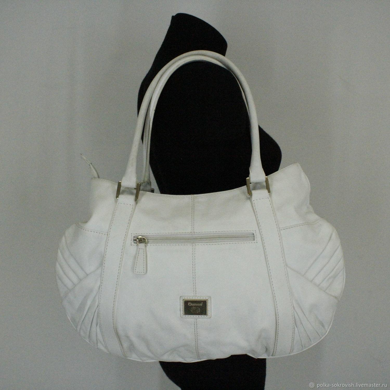 b527b22cbf4f Винтажные сумки и кошельки. Ярмарка Мастеров - ручная работа. Купить  Винтаж: Сумка кожаная ...