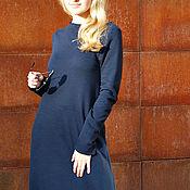 Одежда ручной работы. Ярмарка Мастеров - ручная работа Платье BLUE LONG. Handmade.