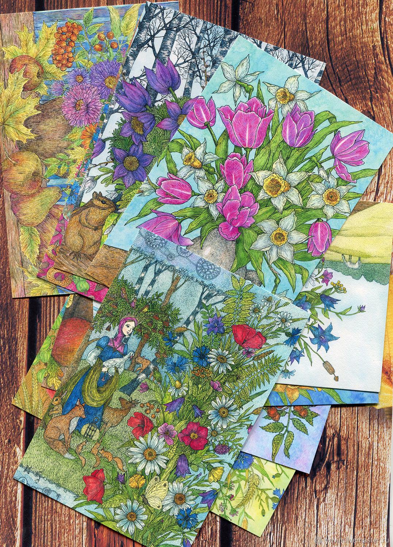 Каталоги открыток светланы корниловой
