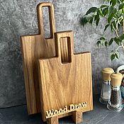 Посуда handmade. Livemaster - original item Cutting boards: Set of boards