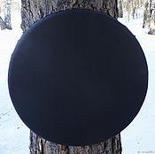 Музыкальные инструменты handmade. Livemaster - original item Black tambourine 25 cm. Tambourine Vedic. Handmade.