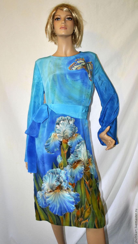 Платья батик