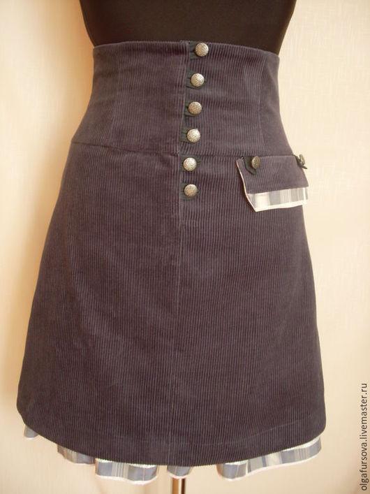Завышенная юбка доставка