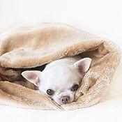 Для домашних животных, ручной работы. Ярмарка Мастеров - ручная работа Спальный мешок. Handmade.