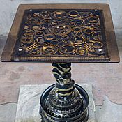 Для дома и интерьера ручной работы. Ярмарка Мастеров - ручная работа Журнальный стол в стиле ТехноАрт.. Handmade.