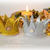 Сделать корону для принцессы своими руками из бумаги