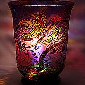 Для дома и интерьера ручной работы. Ярмарка Мастеров - ручная работа Большая ваза-фонарь. Handmade.