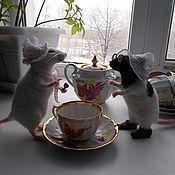 Куклы и игрушки ручной работы. Ярмарка Мастеров - ручная работа крыски. Handmade.