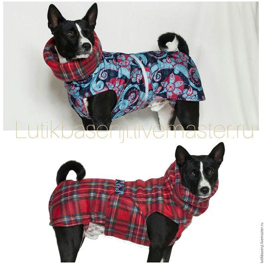 Одежда для собак, ручной работы. Ярмарка Мастеров - ручная работа. Купить Попона ПЕРЕВЕРТЫШ Фантазия. Handmade. Комбинированный, попона для собаки