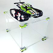Органайзеры ручной работы. Ярмарка Мастеров - ручная работа Демонстрационный бокс для Скоростного Вездехода от Lego. Handmade.