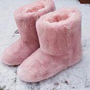 Обувь ручной работы handmade. Livemaster - original item Genuine mink ugg boots. Handmade.