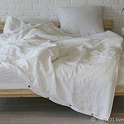 Для дома и интерьера handmade. Livemaster - original item Soft linen bed linen - Luxury linen made of pure linen. Handmade.