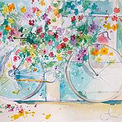 Картины и панно ручной работы. Ярмарка Мастеров - ручная работа Я привезу тебе весну.... Handmade.