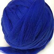 Материалы для творчества handmade. Livemaster - original item Australian Merino Night.Germany.19 MD. wool for felting. Handmade.