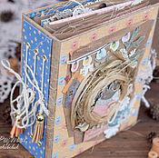 Подарки к праздникам ручной работы. Ярмарка Мастеров - ручная работа Уютный альбом растрепыш. Handmade.