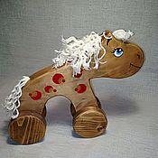 Куклы и игрушки handmade. Livemaster - original item Horse stretcher, large. Handmade.