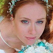 Свадебный салон ручной работы. Ярмарка Мастеров - ручная работа Брошь букет невесты люкс. Handmade.