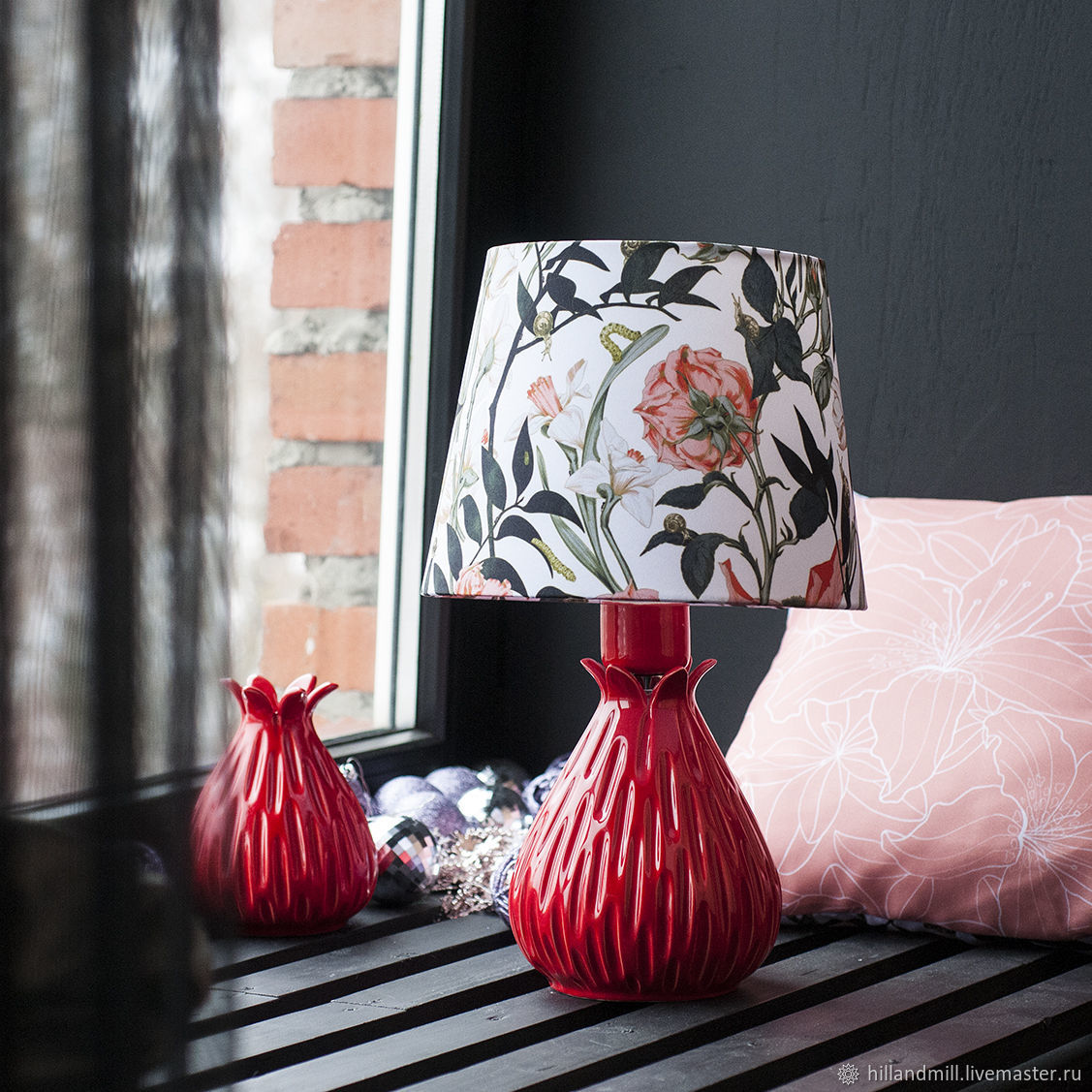 Table lamp ' Astra Red', Table lamps, Vyazniki,  Фото №1