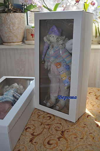 Gift Wrapping handmade. Livemaster - handmade. Buy Box with window for lovely products.Packaging, white