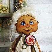 Куклы и игрушки ручной работы. Ярмарка Мастеров - ручная работа Текстильная кукла. Ангелушка Катя.. Handmade.