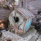 """Для дома и интерьера ручной работы. Ярмарка Мастеров - ручная работа Домик для сладостей """"Чудесная пора"""". Handmade."""